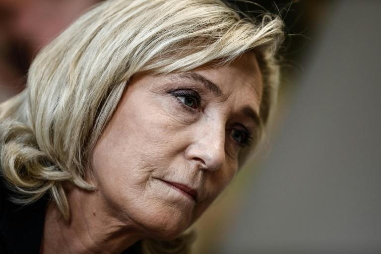 Marine Le Pen is seeking to convince French voters that her National Rally is a serious party of power
