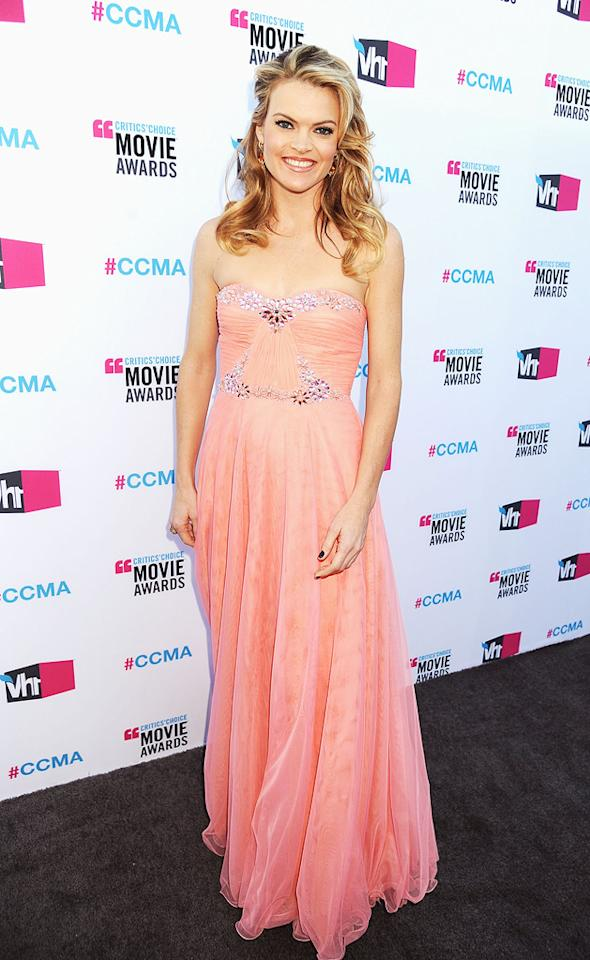 """<a href=""""http://movies.yahoo.com/movie/contributor/1800352196"""">Missi Pyle</a> at the 17th Annual Critics' Choice Awards in Hollywood on January 12, 2012."""