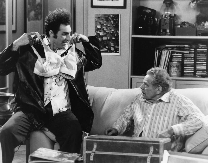 Michael Richards and Jerry Stiller on