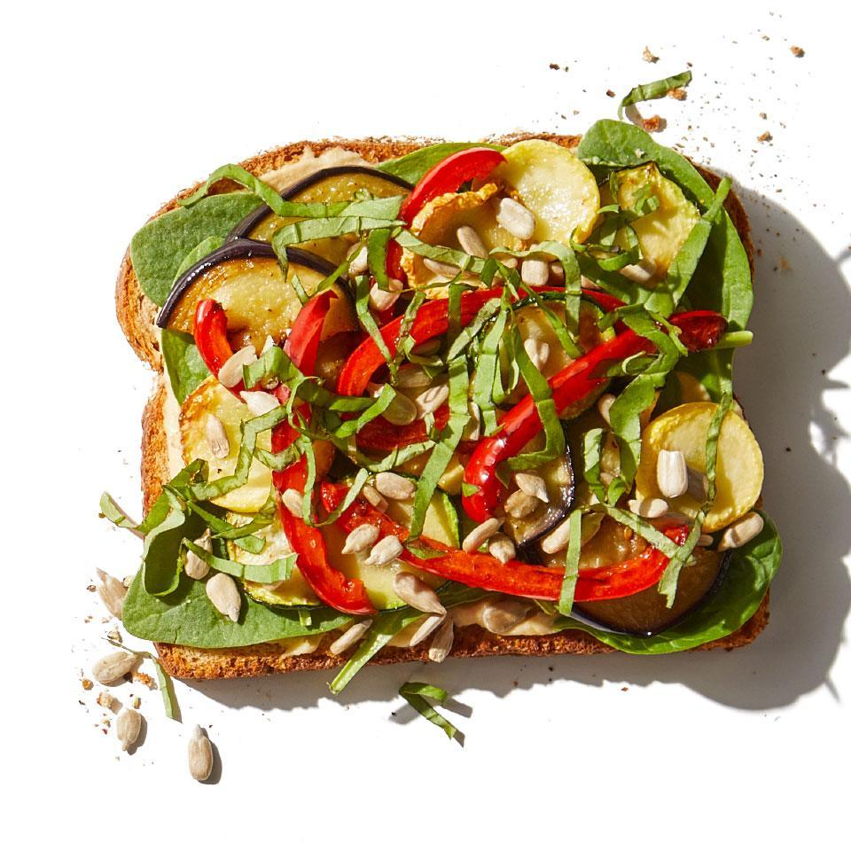 <p>Spruce up your sandwich game with a medley of roasted veggies. For extra vegetables throughout the week, roast a whole sheet pan in Step 1, then add the cooked veggies to salads, sandwiches, and pasta dishes, or serve them as a side dish.</p>