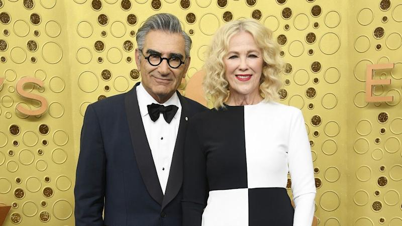 Eugene Levy and Catherine O'Hara Hit the Emmys Red Carpet -- 37 Years After Their First Win Together!