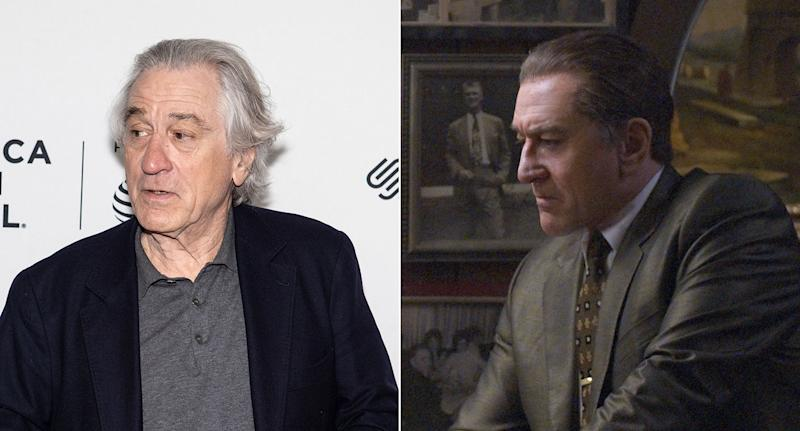 Scorsese's VFX team has rolled back the years on Robert De Niro for <i>The Irishman</i>. (Ira L. Black/Corbis via Getty Images/Netflix)