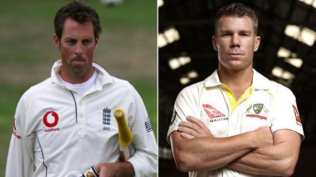 Trescothick isn't happy with Warner. Image: Getty