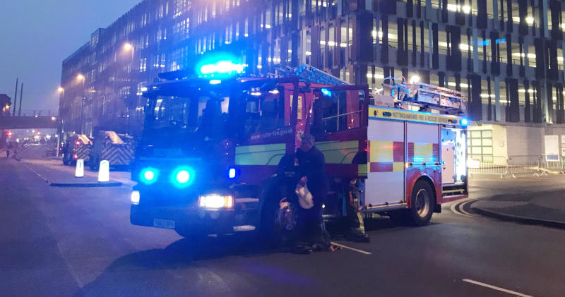 Nottingham Station partially re-open after fire