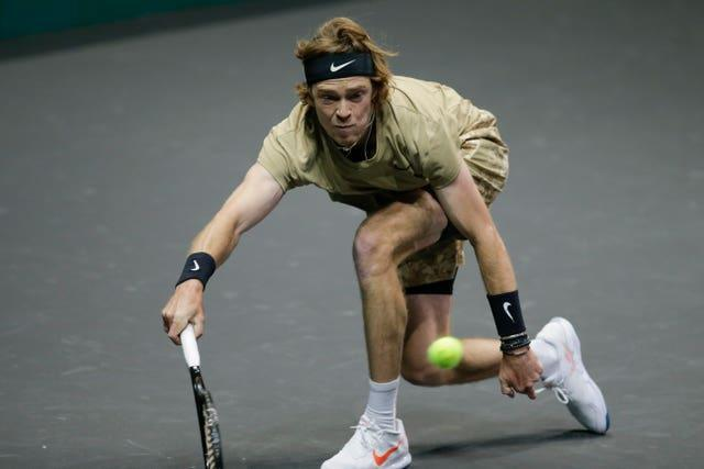Andrey Rublev defeated Marcos Giron on Tuesday