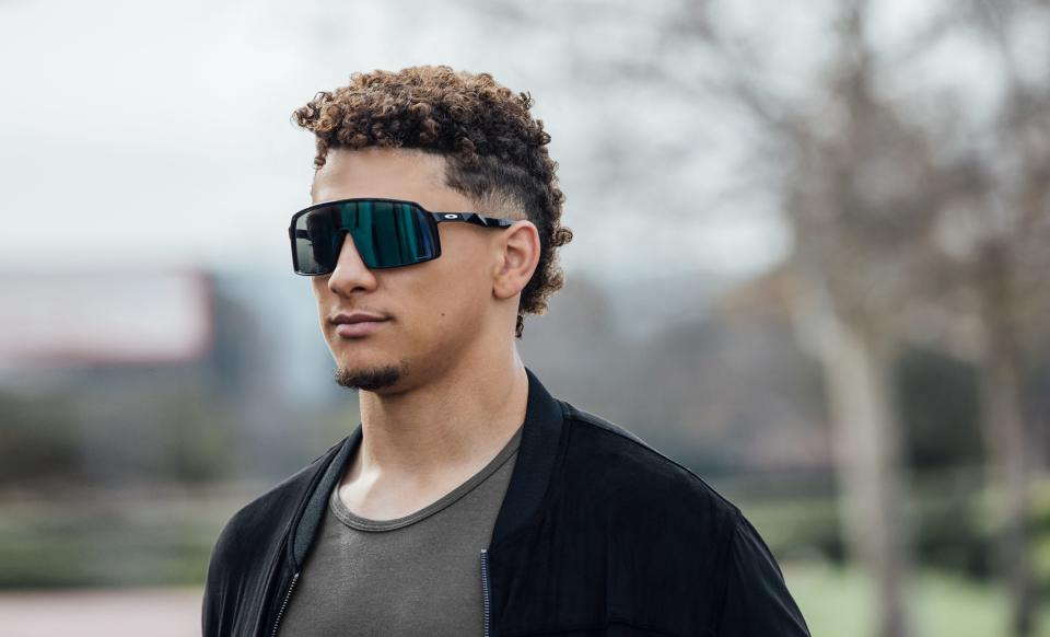 Patrick Mahomes II is the first NFL player to sign an endorsement deal with Oakley. (Photo: Courtesy of Oakley)