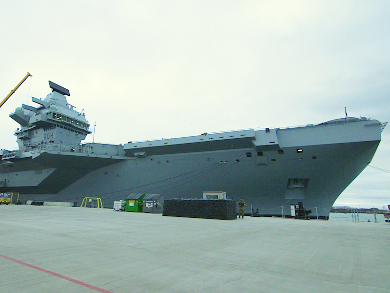 We went on board the British Navy's most powerful warship — here's what it's like
