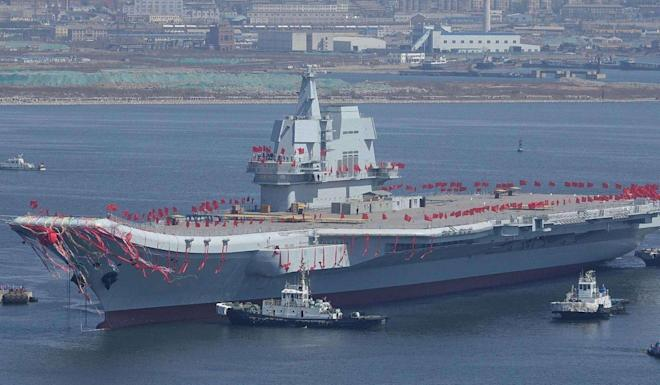 The Type 001A has gone through its seventh sea trial and the builders say it can carry 36 fighters, 12 more than sister ship the Liaoning. Photo: Ifeng