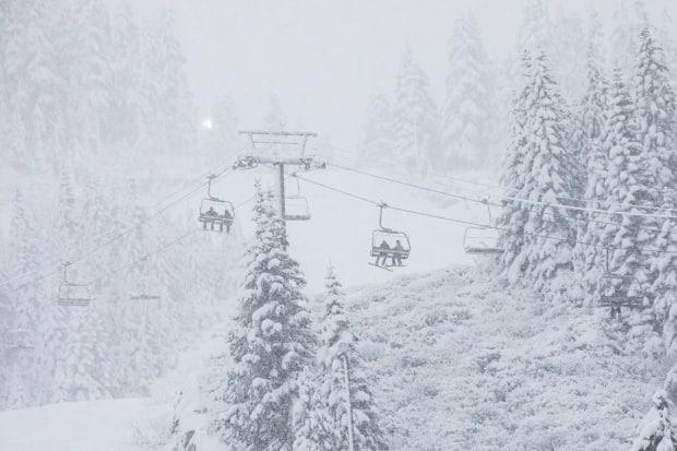 The accident happened at the Mount Seymour Ski Resort in North Vancouver. (Ben Nelms/CBC - image credit)