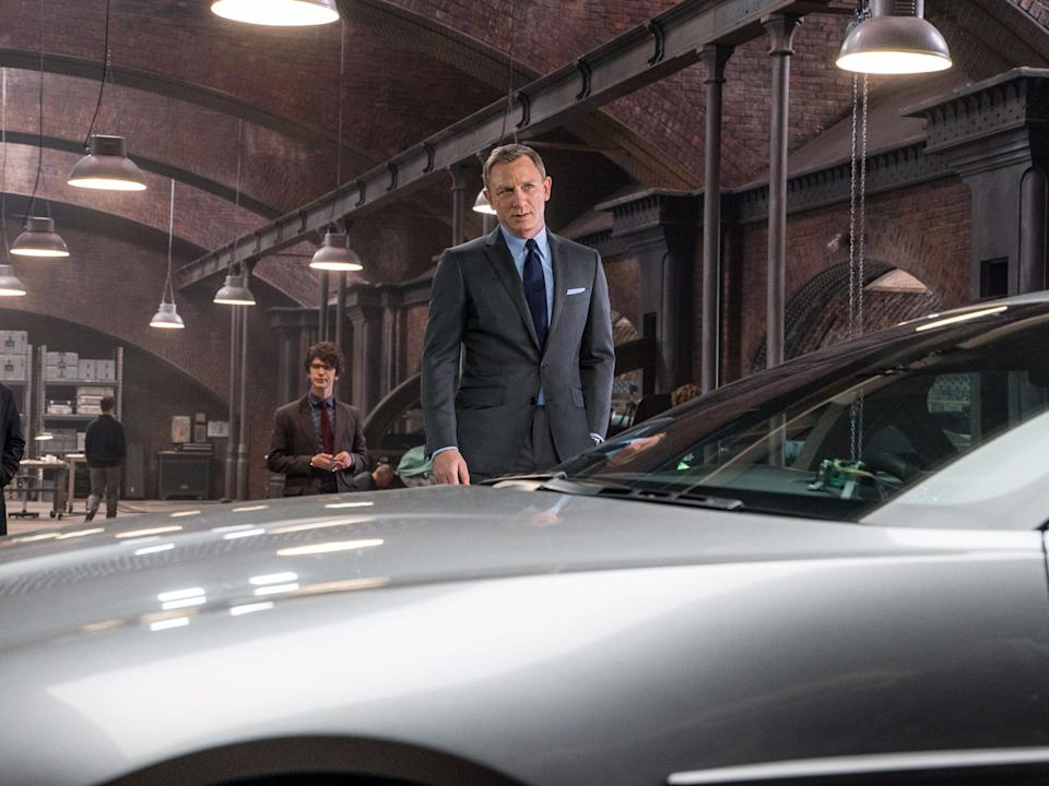 """""""Spectre"""" is the 24th Bond film, which sees 007 go up against Blofeld (Christoph Waltz)."""