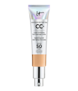 """As a three-time Readers' Choice Award winner, <a href=""""https://www.allure.com/review/it-cosmetics-your-skin-but-better-cc-cream-review?mbid=synd_yahoo_rss"""" rel=""""nofollow noopener"""" target=""""_blank"""" data-ylk=""""slk:IT Cosmetics Your Skin But Better CC+ Cream"""" class=""""link rapid-noclick-resp"""">IT Cosmetics Your Skin But Better CC+ Cream</a> offers the coverage of a richer, non-cakey foundation and the sun protection of a mineral SPF (just be sure to apply sunscreen beforehand for even more coverage). While it temporarily does away with blemishes and evens out discoloration on skin, you can count on its moisturizing blend of glycerin, niacinamide, and <a href=""""https://www.allure.com/story/hyperpigmentation-treatment-snail-mucin-review-before-after-photos?mbid=synd_yahoo_rss"""" rel=""""nofollow noopener"""" target=""""_blank"""" data-ylk=""""slk:snail-secretion filtrate"""" class=""""link rapid-noclick-resp"""">snail-secretion filtrate</a> to hydrate and nourish skin over time. $38, Amazon. <a href=""""https://www.amazon.com/Cosmetics-Your-Better-Cream-Medium/dp/B01LMMZY6O/ref=sr_1_4_mod_primary_new?"""" rel=""""nofollow noopener"""" target=""""_blank"""" data-ylk=""""slk:Get it now!"""" class=""""link rapid-noclick-resp"""">Get it now!</a>"""