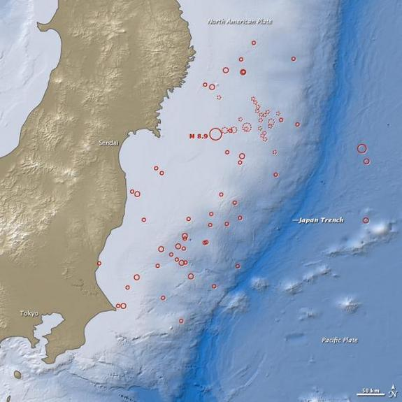 Japan Earthquake Unleashed Surprising Torrent of Energy