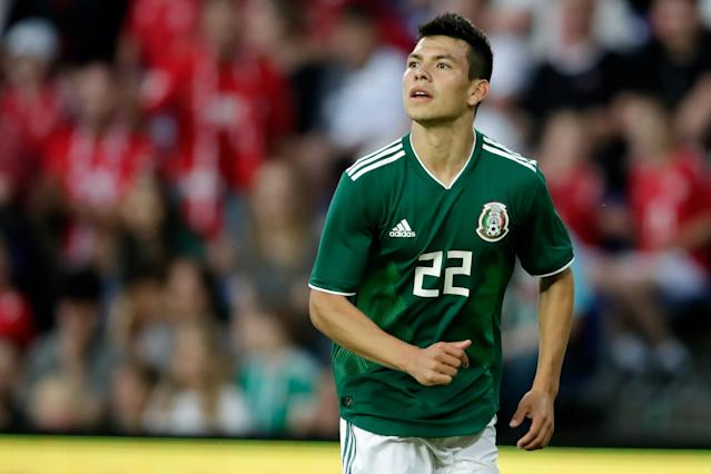<p>Hirving Lozano is part of the Mexico squad valued at €153m. </p>