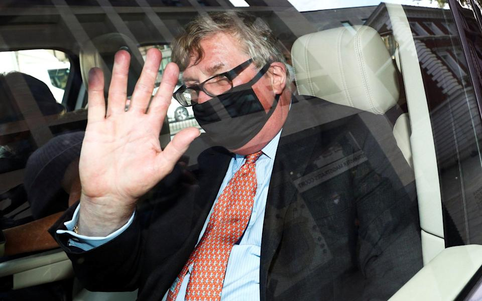 Hedge fund manager Crispin Odey 'launched himself' at woman in his Chelsea flat, court hears - HANNAH MCKAY