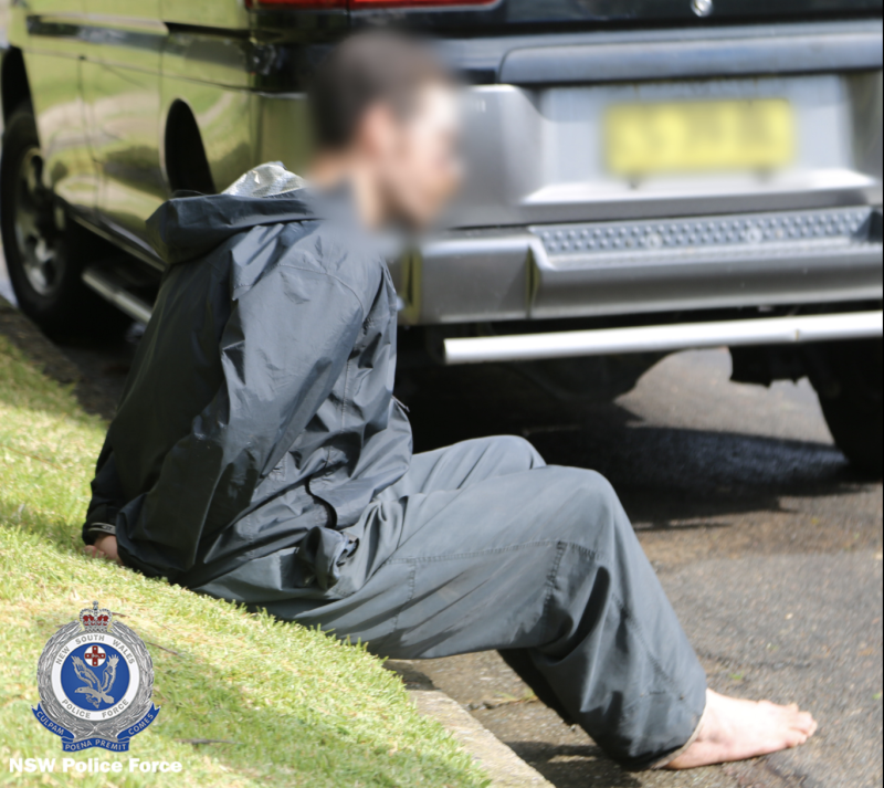 A 33-year-old male was arrested on Thursday. Source: NSW Police