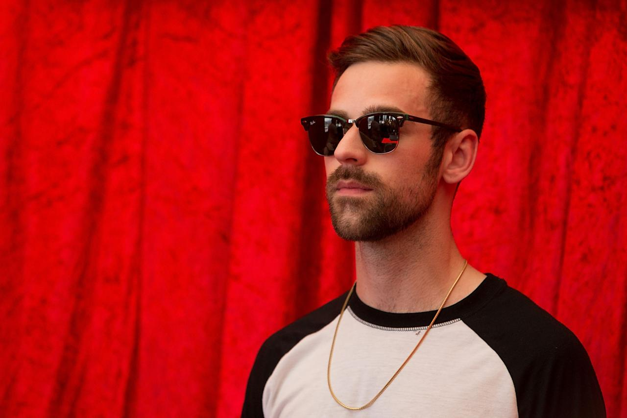 MELBOURNE, AUSTRALIA - FEBRUARY 13:  Ryan Lewis performs live with Macklemore at Nova's Red Room at The Cullen Hotel on February 13, 2013 in Melbourne, Australia.  (Photo by Graham Denholm/Getty Images)