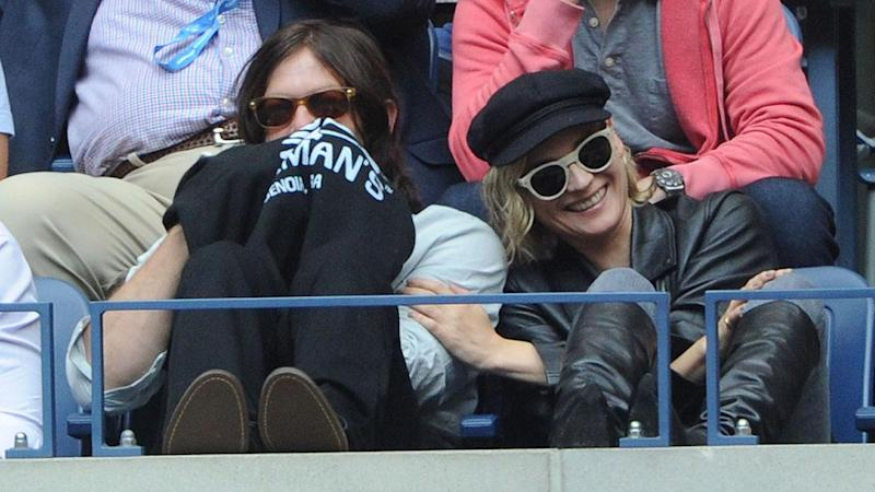 Diane Kruger Cozies Up to Norman Reedus, Takes Silly Selfies at the US Open: Pics!