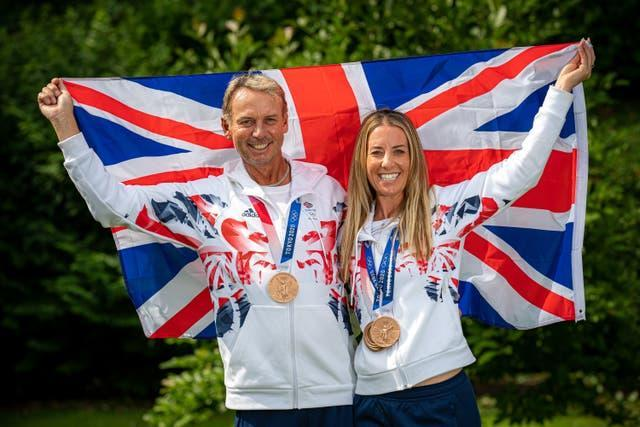 Charlotte Dujardin and Carl Hester Photocall – Gloucester