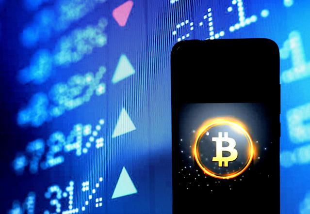 Bitcoin's value has fluctuated wildly in recent weeks. (Getty)