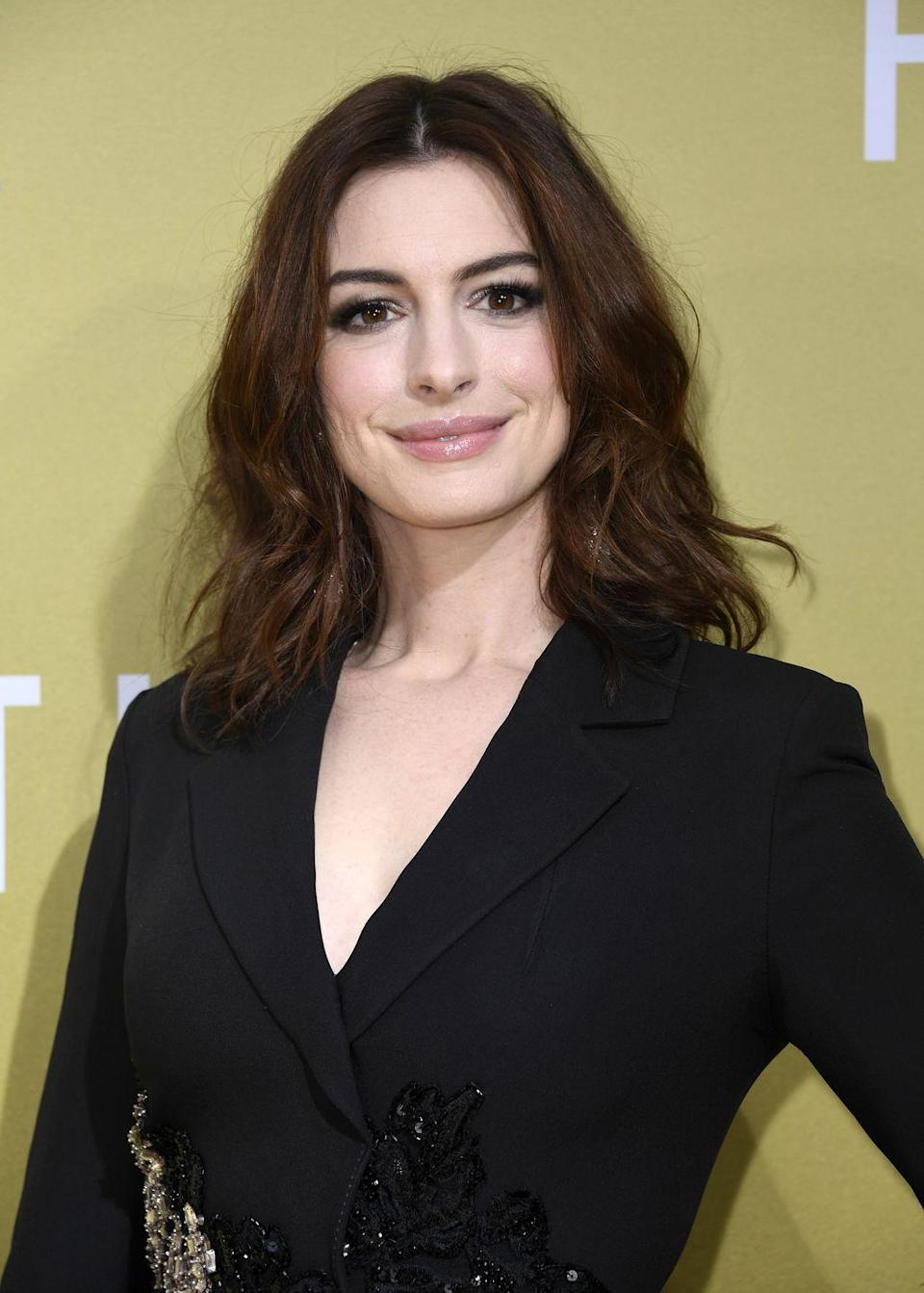 <p>Hathaway lost 25 pounds and shaved her head for the role of Fantine, a prostitute dying of tuberculosis, for<em> Les Misérables</em> in 2012.</p>