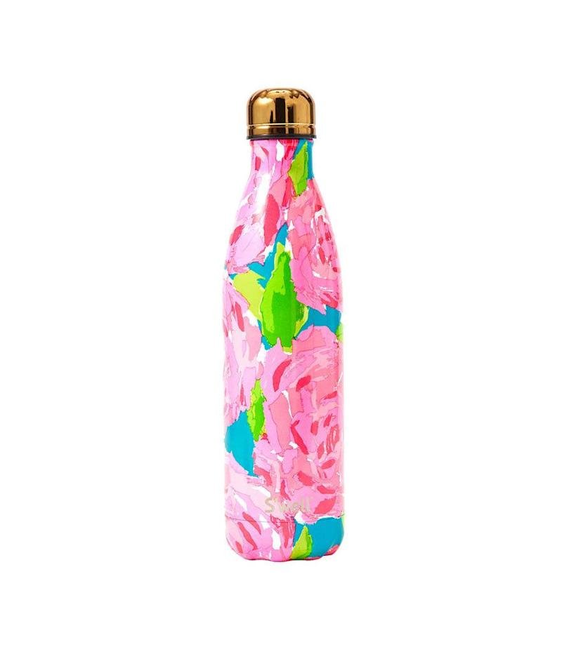 On April 1, you can buy one Lilly Pulitzer x S'well bottle and get one for free (Photo: Lilly Pulitzer)