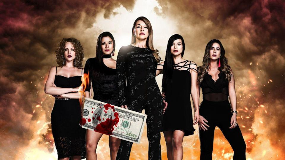 """<p>Shows like <em>Narcos </em>and <em>The Sopranos</em> focus on cartel leaders and mafiosos. But what is it like to be <em>married </em>to one of them? <em>The Mafia Dolls </em>gets the perspective of five women whose lives orbit around organized crime, whether through family relations or romance. The telenovela was a hit when it premiered in Colombia in 2009. Nearly 10 years later, Netflix revived the series for a second season. Strap in for the long haul: Each season has nearly 60 dramatic episodes. <em><br></em></p><p><a class=""""link rapid-noclick-resp"""" href=""""https://www.netflix.com/watch/80036140?source=35"""" rel=""""nofollow noopener"""" target=""""_blank"""" data-ylk=""""slk:Watch Now"""">Watch Now</a></p>"""