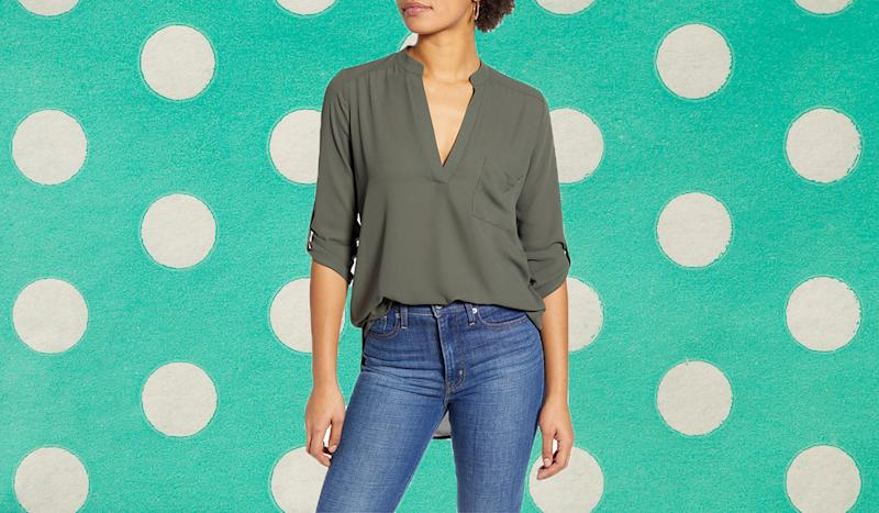 The henley comes in 7 versatile shades. (Photo: Nordstrom)