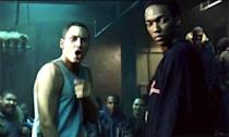 <p>Over the years, Mackie's role as Sam Wilson/Falcon made an impact on the <em>Avengers </em>franchise. But back in 2002, he was trying to one-up Eminem in a rap battle in the hit film <em>8 Mile</em>.</p>