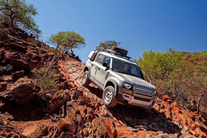 Photo credit: Courtesy Land Rover