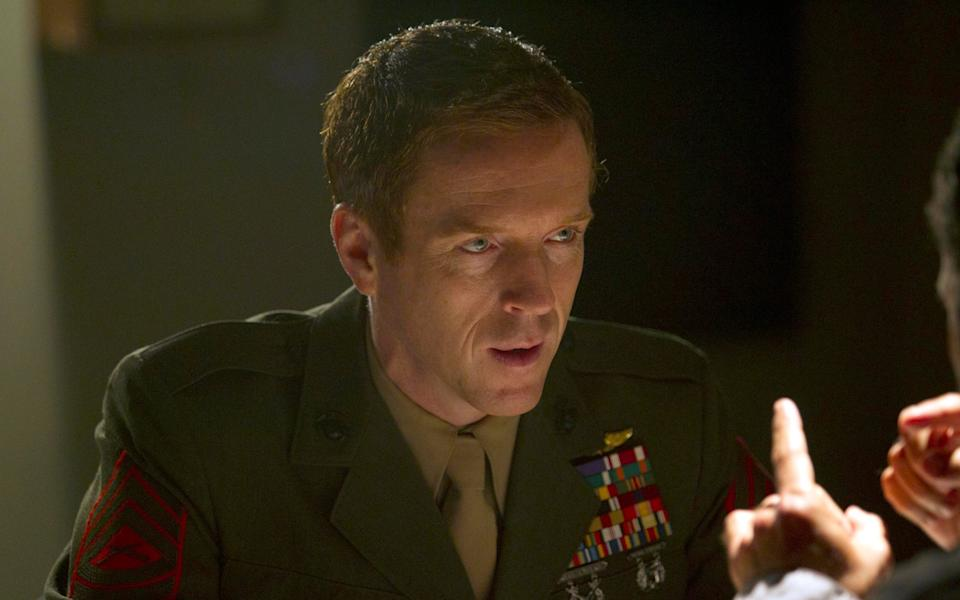 Lewis as Brody in Homeland, one of the TV series for which remains best-known - Channel 4
