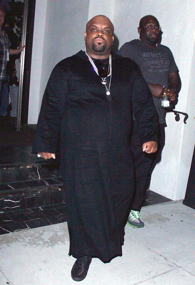 **EXCLUSIVE** Cee Lo Green seen leaving Prive' in Beverly Hills