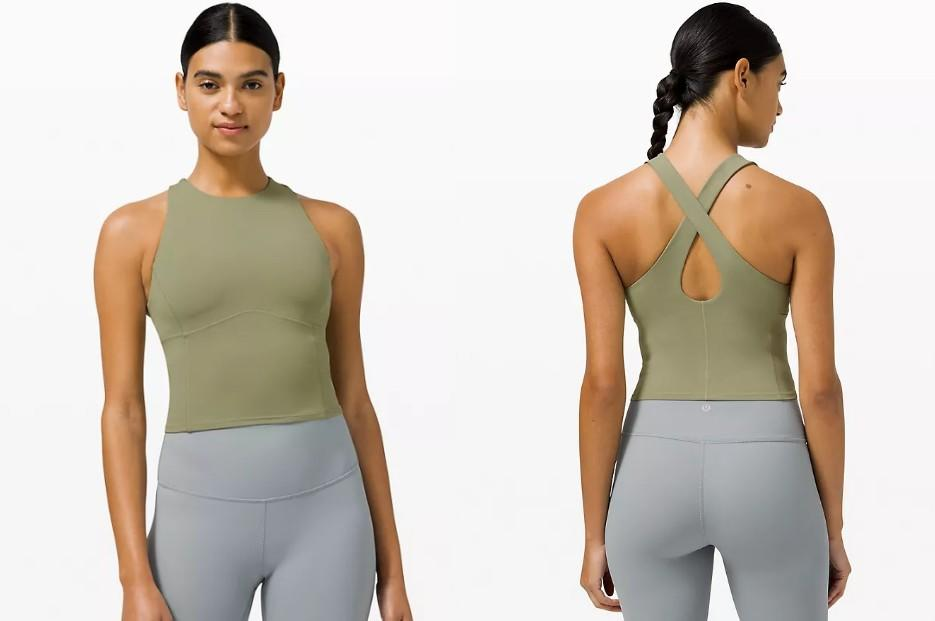 Lululemon's Key To Balance tank top is a top-rated pick, and it's currently part of the brand's We Made Too Much markdowns.