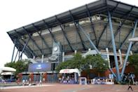 Arthur Ashe Stadium at the Billie Jean King National Tennis Center will be at full capacity for the 2021 US Open tennis championships (AFP/Sarah Stier)