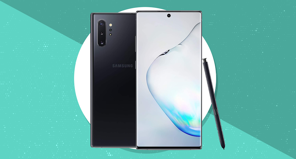 Get the Samsung Galaxy Note 10+ (unlocked) for just $850, today only. (Photo: Samsung)