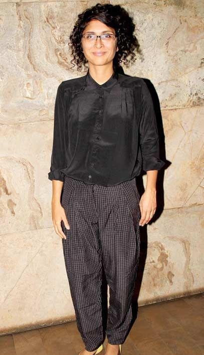 Kiran Rao Mr. Perfectionist's wife is not just a star wife, but is also a producer, director and a scriptwriter. Her debut film Dhobi Ghat won critical acclaim.