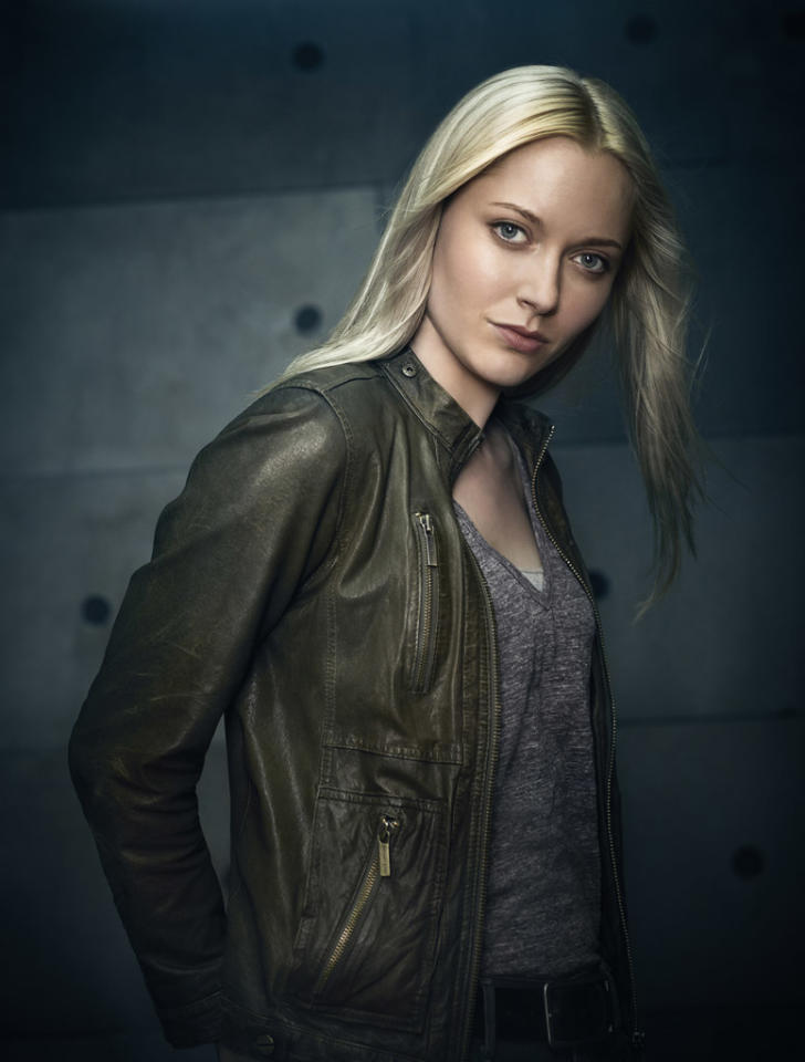 "Georgina Haig as Etta in Season Five of ""Fringe."""