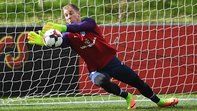 The on-loan Manchester City goalkeeper will lead the side against Lithuania, with the Three Lions boss backing him after a poor Euro 2016