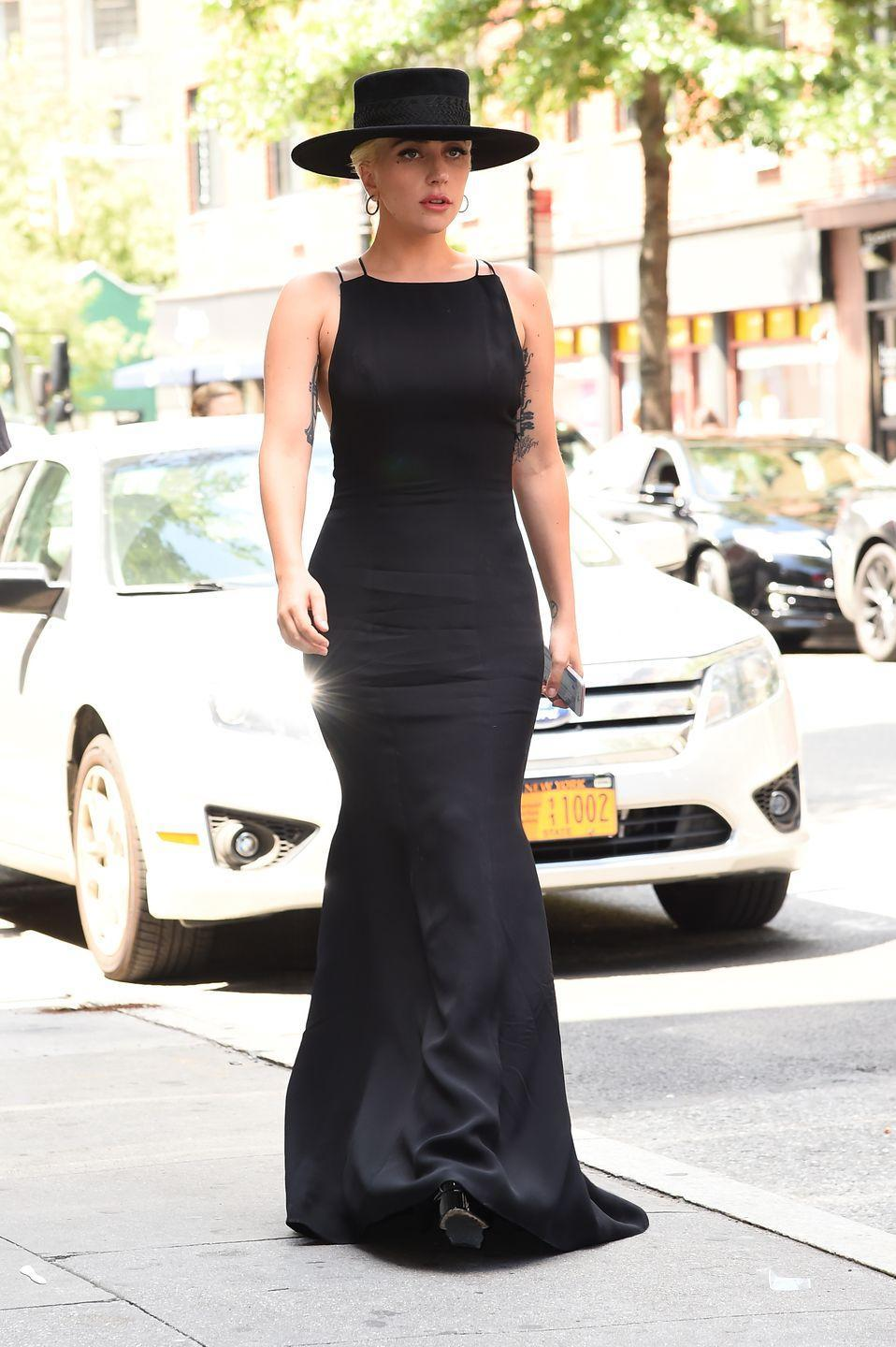 <p>Lady Gaga out and about in New York, August 2016.</p>