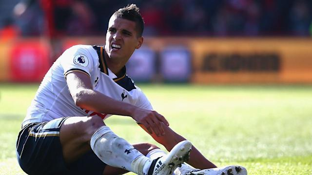 Erik Lamela will not play again for Tottenham this season after the club decided he should undergo hip surgery.