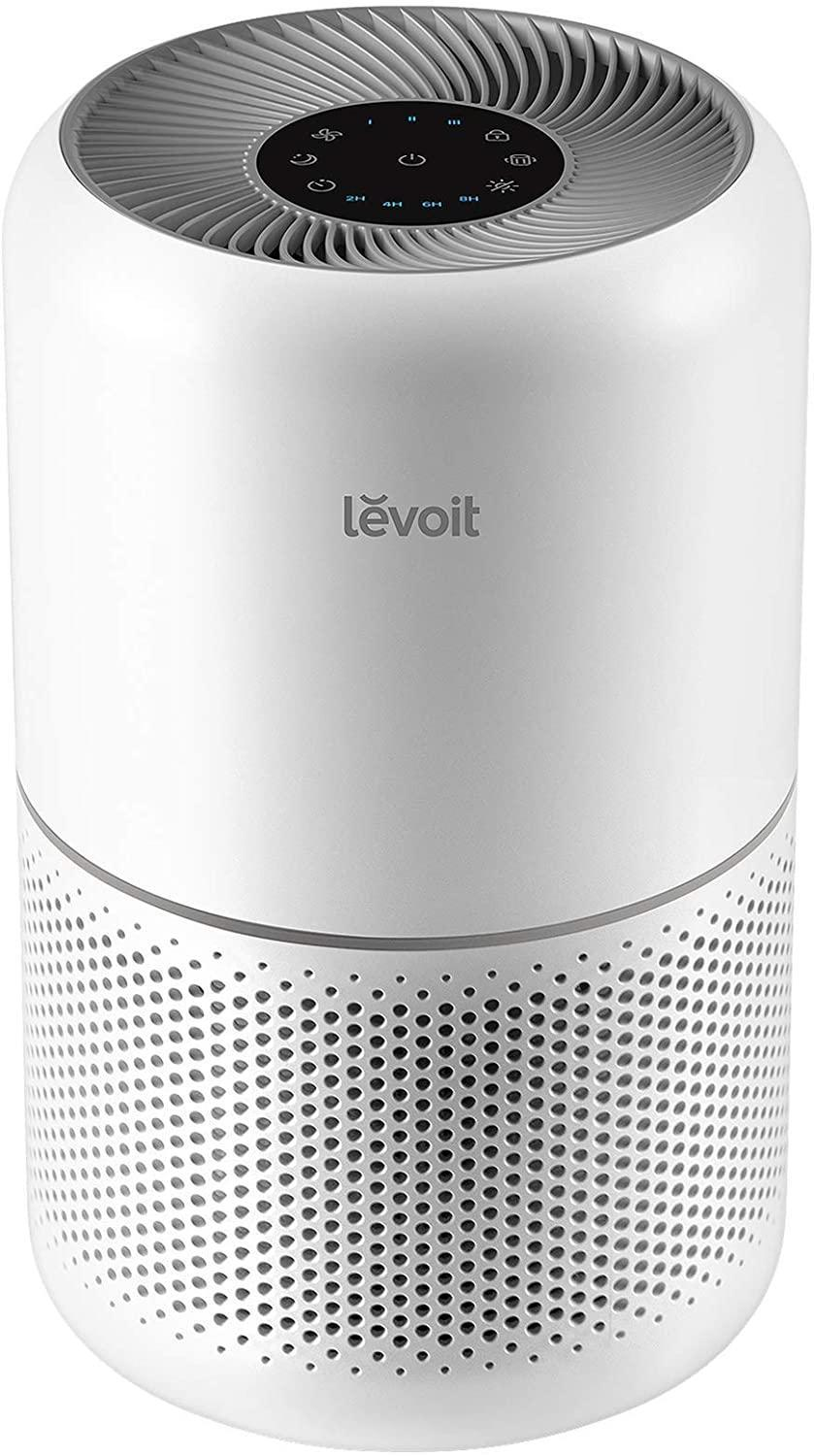 """<h2>Best Customizable Air Purifier</h2><br>Levoit's purifier offers three types of replacement filters that you can choose depending on your particular need: an original filter, a pet allergy filter, and a toxin-absorbing filter. <br><br><strong>Levoit</strong> Air Purifier for Home Allergies, $, available at <a href=""""https://amzn.to/3uRBML3"""" rel=""""nofollow noopener"""" target=""""_blank"""" data-ylk=""""slk:Amazon"""" class=""""link rapid-noclick-resp"""">Amazon</a>"""