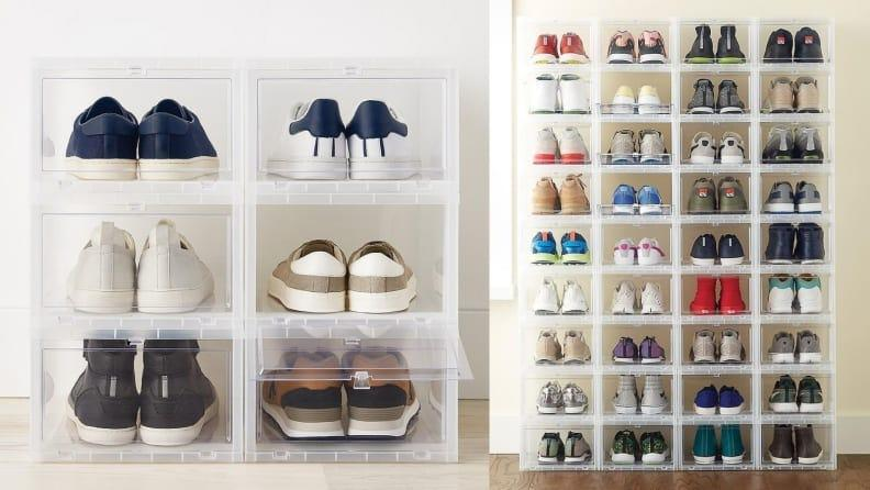 Don't let cluttered shoes take over your closet.