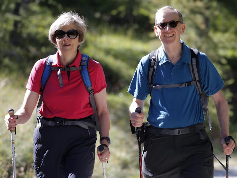 The Prime Minister reportedly changed her mind about the wisdom of calling an early referendum while on an Easter walking break: Getty Images