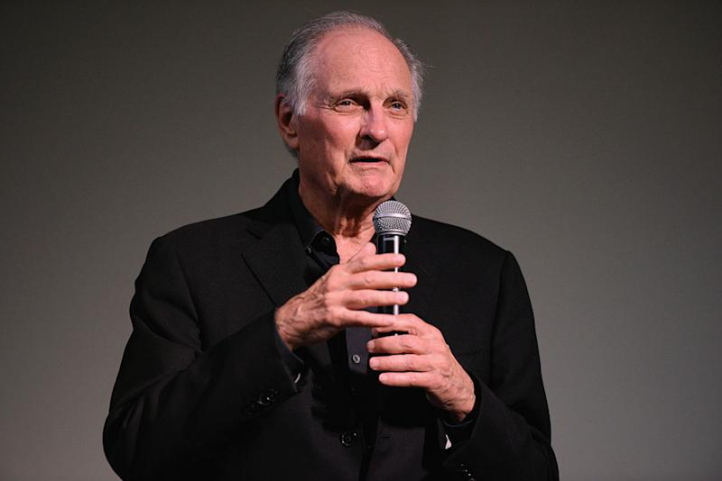 Actor Alan Alda opposes President Trump. (Photo: Matthew Eisman/Getty Images for Hamptons International Film Festival)