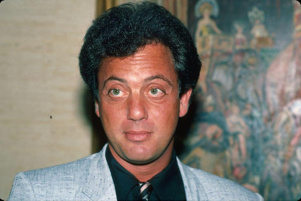 <p>Singer Billy Joel debuted onto the scene in the '80s with songs like <em>Piano Man </em>and a full head of hair.  </p>