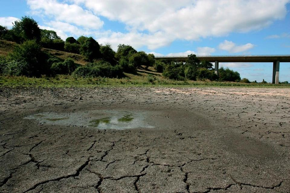A dried up river bed in Hertfordshire. The UK heatwaves in 2018 were made 30 times more likely by the climateemergency, andled to 8,500 heat-related deaths in the UK (Jiri Rezac/WWF-UK)