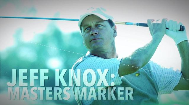 The legend of Jeff Knox: Masters marker