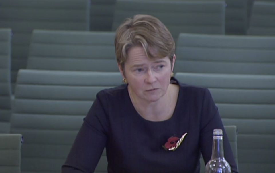 'It's hard': Dido Harding on the difficulties people face in staying at home for their entire isolation periods. (Parliamentlive.tv)