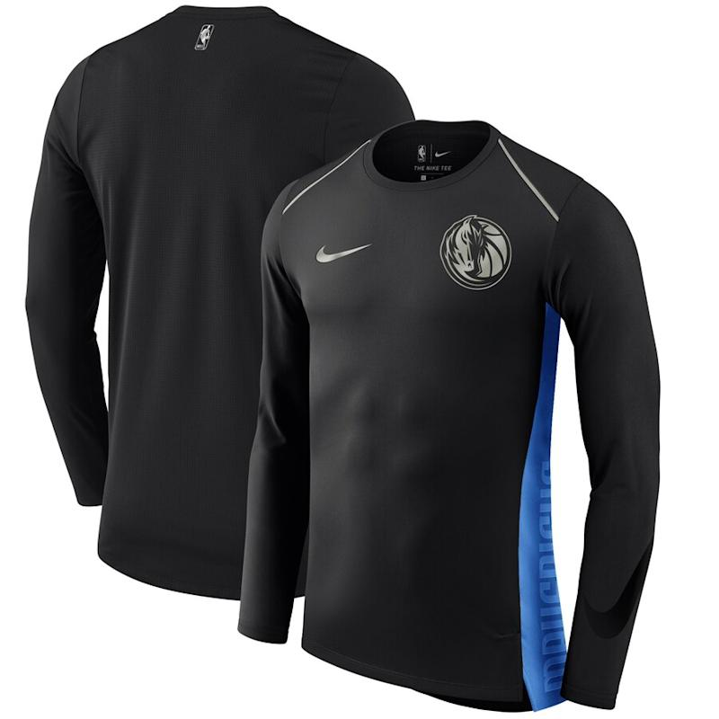 Mavericks Nike Statement Edition Long Sleeve T-Shirt