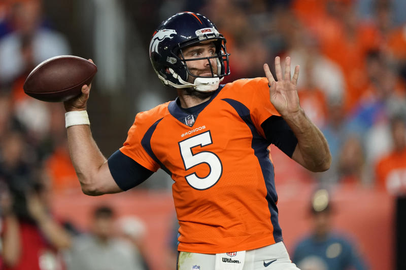 Joe Flacco cut by Broncos with failed physical designation
