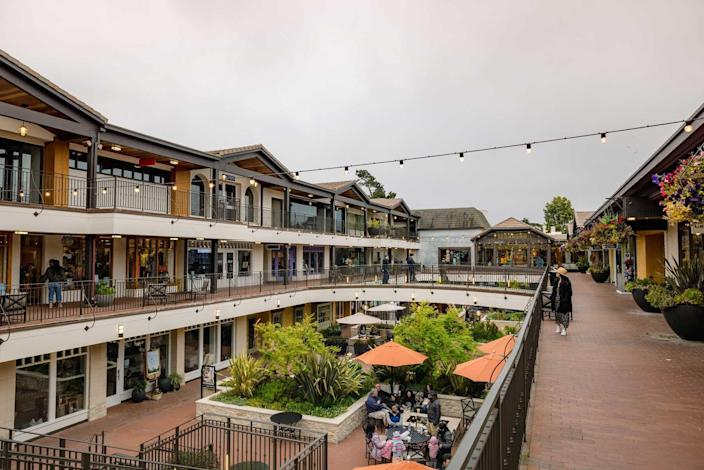 Afternoon shopping at Carmel-by-the-Sea, California